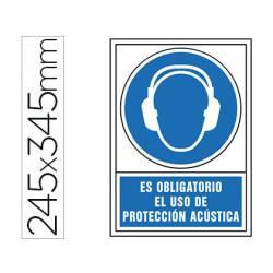 Señal marca Syssa obligatorio uso proteccion acustica