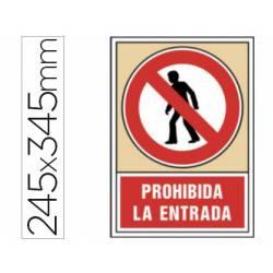 Señal marca Syssa prohibida la entrada