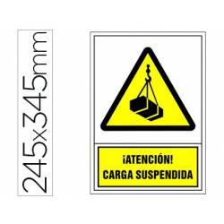 Señal marca Syssa carga suspendida