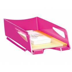 Bandeja sobremesa plastico Cep maxi color rosa