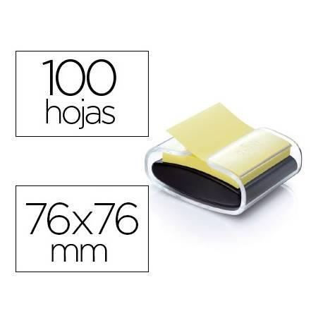 Dispensador Post-it ® PRO Z-Notes 76 x 76 color negro