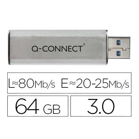 Memoria usb marca Q-connect flash 64GB