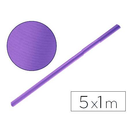 Bobina papel tipo kraft Liderpapel 5 x 1 m violeta