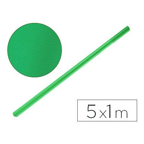 Bobina papel tipo kraft Liderpapel 5 x 1 m verde malaquita