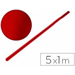 Bobina papel tipo kraft Liderpapel 5 x 1 m rojo cherry