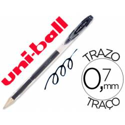 Boligrafo Uni-Ball Roller UM-120 signo 0,4 mm color negro