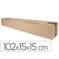 Caja para embalar marca Q-Connect Tubo 102x15x15Cm