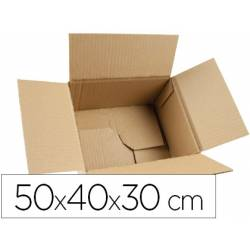 Caja para embalar marca Q-Connect 50x40x30Cm