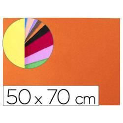 Goma Eva Liderpapel textura toalla color naranja