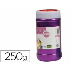 Purpurina Liderpapel fantasia color violeta metalizado