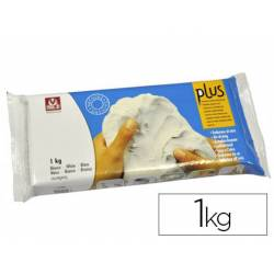 Arcilla Sio-2 Plus color blanco 1000 g