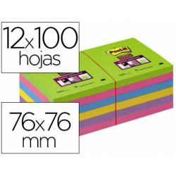 Pack 12 blocs de post-it ® colores surtidos