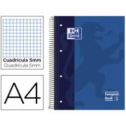 Bloc Oxford EBook5 espiral tapa extradura 120 hojas Din A4 colores surtidos