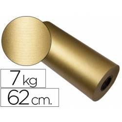 Bobina papel kraft Impresma 62 cm color oro