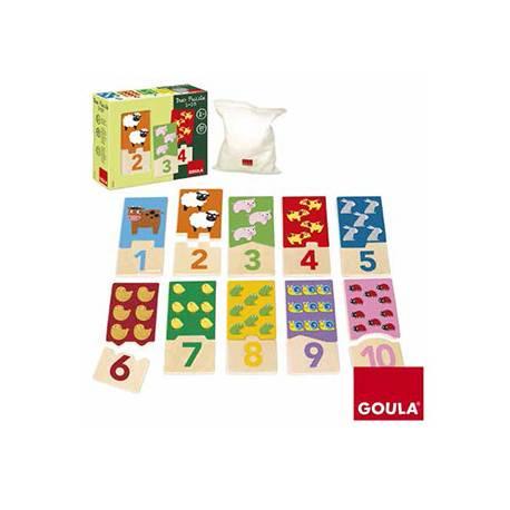 Puzzle a partir de 2 años Duo 1-10 Goula