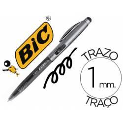 Boligrafo Bic cristal stylus 2 in 1 negro 0,4 mm