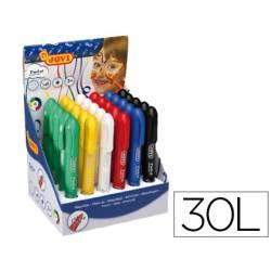 Barra maquillaje colores surtidos marca Jovi Twist Make-UP. Caja de 30 unidades