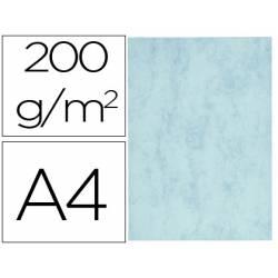 Cartulina marmoleada DIN A4 color Azul