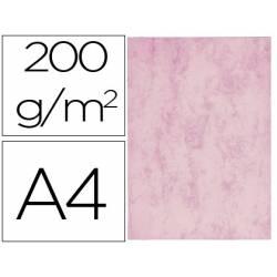 Cartulina marmoleada DIN A4 color Rosa