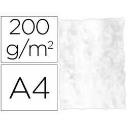Papel pergamino DIN A4 troquelado color Gris marmoleado