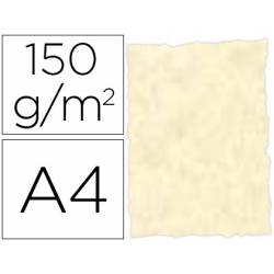 Papel pergamino DIN A4 troquelado color Topacio parchment