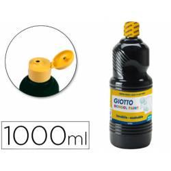 Tempera liquida Giotto color negro 1000 cc