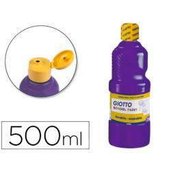 Tempera Giotto color violeta 500 cc