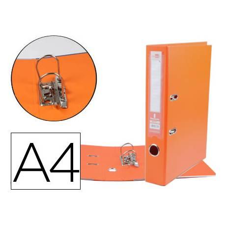Archivador de palanca 52 mm Liderpapel Din A4 color naranja