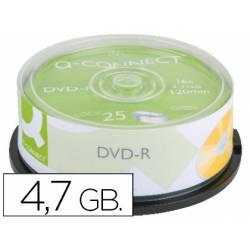 DVD-R Q-Connect imprimible para inkjet tarrina 25