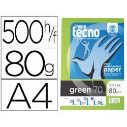 Papel fotocopiadora Tecno Green 100% reciclado A4 80 gr