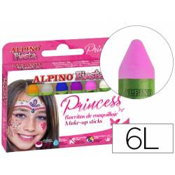 Barra maquillaje marca Alpino princess