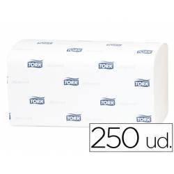 Toalla papel marca Tork engarzada 2 capas 250 unidades