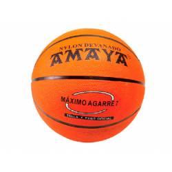 Balon de baloncesto caucho Naranja Nº7 Amaya