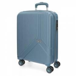 Maleta de cabina rígida Movom Trendy Azul 55x40x20cm