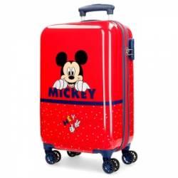 Maleta de cabina Happy Mickey rígida 55x34x20cm
