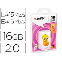 MEMORIA USB EMTEC FLASH 16 GB USB 2.0 TWEETY