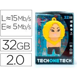 MEMORIA USB TECH ON TECH SHASHA KIRA 32 GB