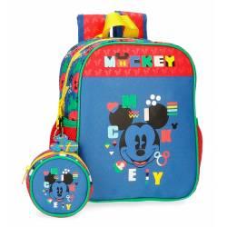 Mochila Preescolar Mickey Shape Shifter 25x21x10cm