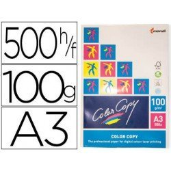 Papel multifuncion Mondi Color Copy A3 100 gr/m2 Satinado