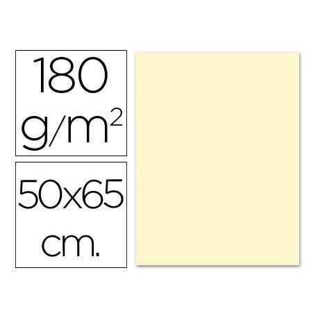 Cartulina Liderpapel color crema 180 g/m2