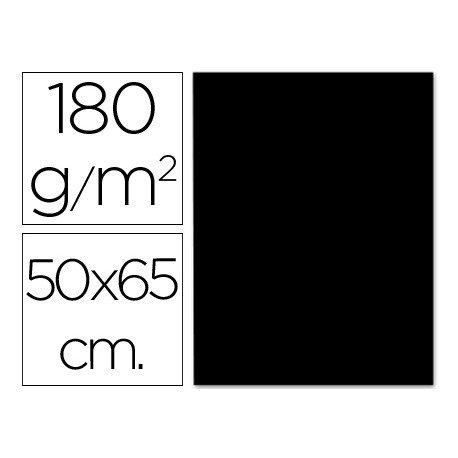 Cartulina Liderpapel 180 g/m2 negro