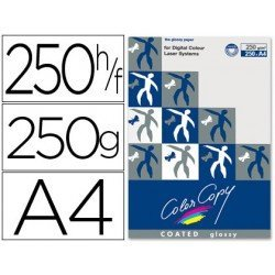 Papel multifuncion Mondi Color Copy A4 250 gr/m2 Brillo