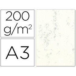 Cartulina marmoleada DIN A3 color Gris