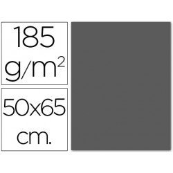 Cartulina Guarro gris plomo 500 x 650 mm de 185 g/m2