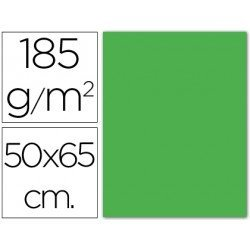 Cartulina Guarro 500 x 650 mm 185 g/m2 verde