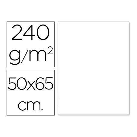 Cartulina Liderpapel 240 g/m2 color blanco