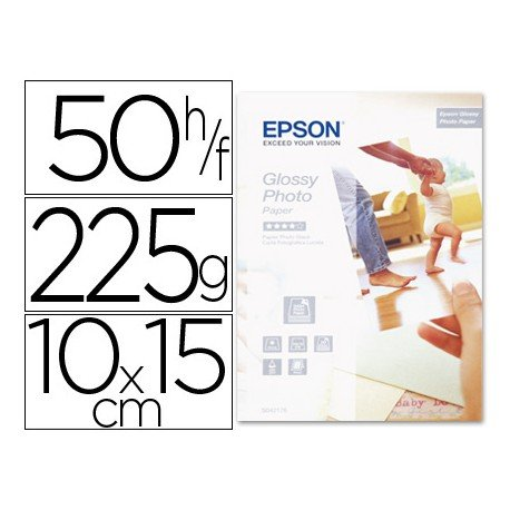 Papel Foto Glossy Epson