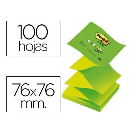 Bloc de notas adhesivas Z-Notes Post-it ®