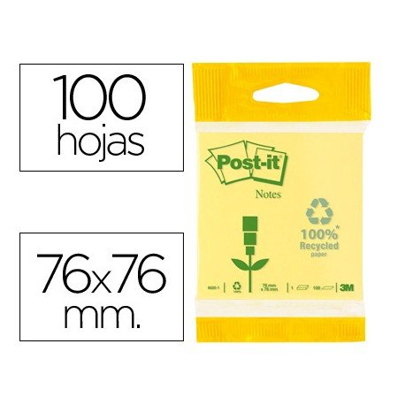 Bloc quita y pon Post-it ® 76 x 76 mm