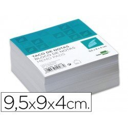 Recambio Liderpapel multitaco color blanco 400 hojas